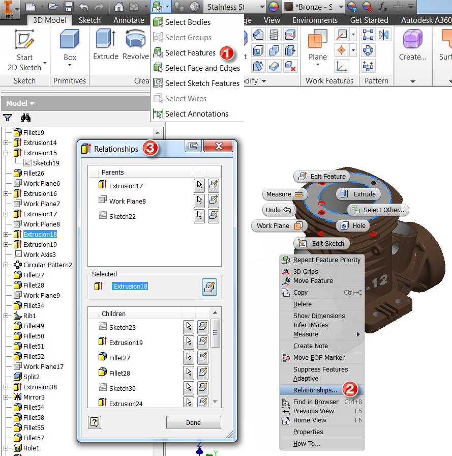 Part Design Enhancements Inventor 2019 Autodesk Knowledge Network