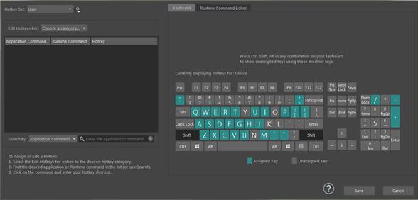 Hotkey Editor | Maya 2019 | Autodesk Knowledge Network
