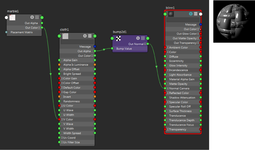 Use the Bump 2d utility | Maya 2019 | Autodesk Knowledge Network