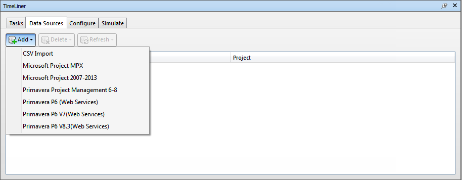 Supported Scheduling Software | Navisworks Products 2019