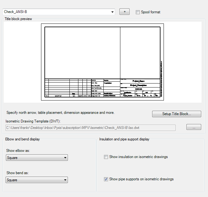 Title Block And Display Autocad Plant 3d 2019 Autodesk Knowledge