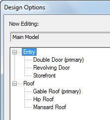 Create a Design Option Set | Revit Products 2019 | Autodesk