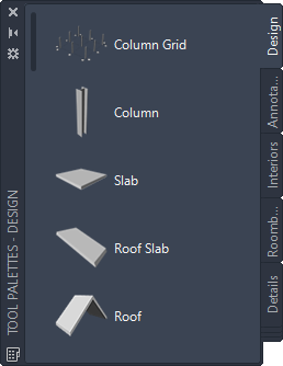 About Using Tools to Create Slabs and Roof Slabs | AutoCAD