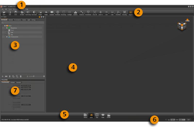 VRED Professional Simple UI
