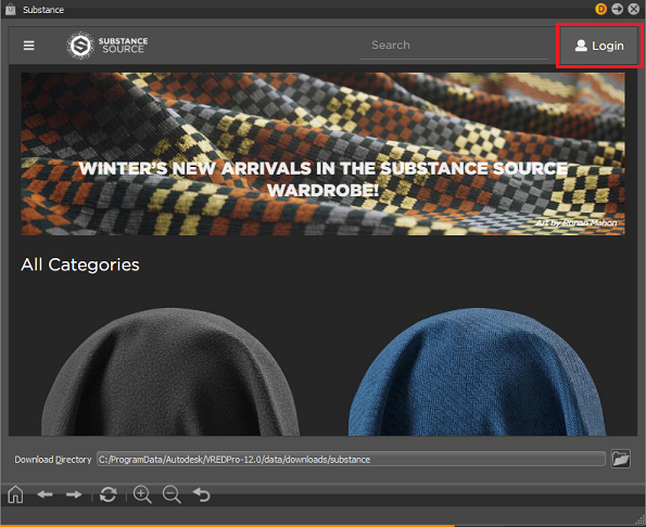 Working with Web Shops | VRED Products 2020 | Autodesk Knowledge Network