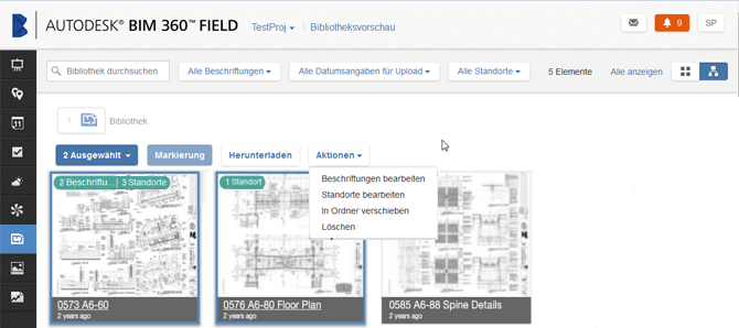 Neu in BIM 360 Field | BIM 360 Field | Autodesk Knowledge Network