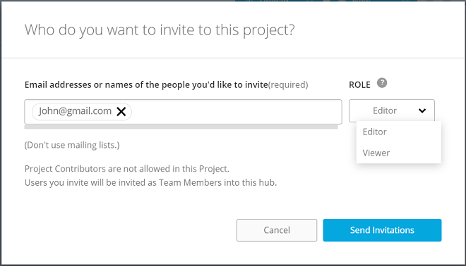 Invite People to a Project | BIM 360 Team | Autodesk Knowledge Network