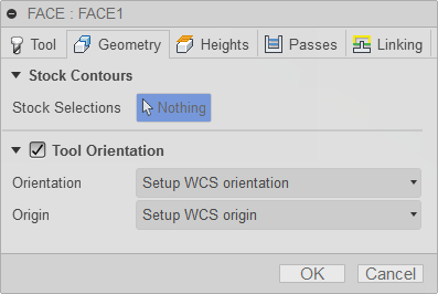 2d face dialog tool tab