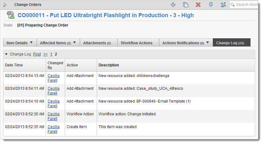 The Change Log Search Autodesk Knowledge Network