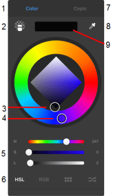 Color Editor | Sketchbook Products | Autodesk Knowledge Network
