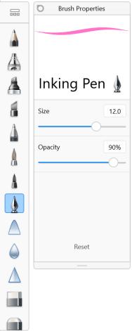 Using Brush Properties | Sketchbook Products | Autodesk Knowledge