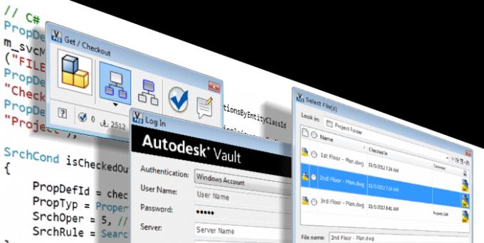 Vault Developer Framework (VDF) | Vault Products | Autodesk