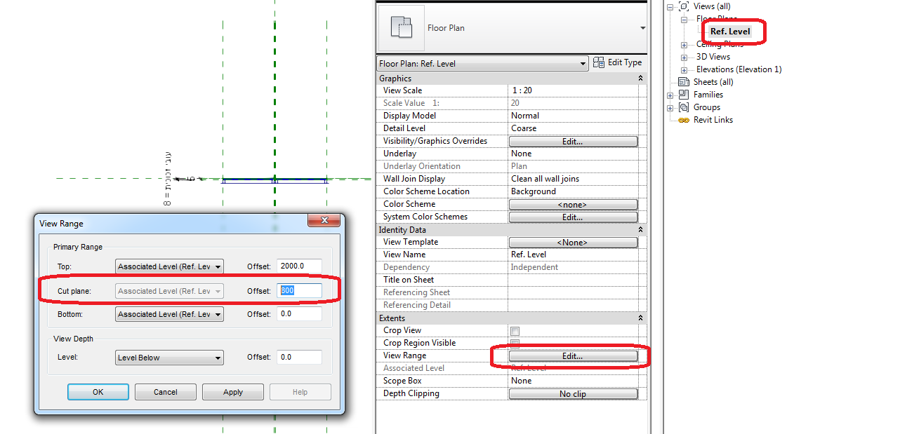 Revit Windows And Doors Not Showing As Expected Revit Products 2019 Autodesk Knowledge Network