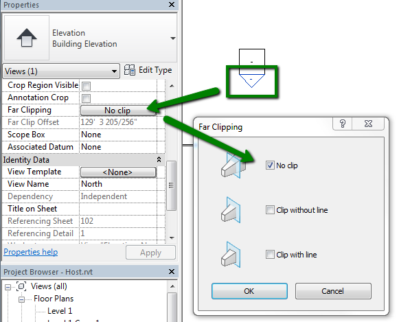 Levels Are Not Visible In Section Or Elevation Views In Revit Revit Products Autodesk Knowledge Network