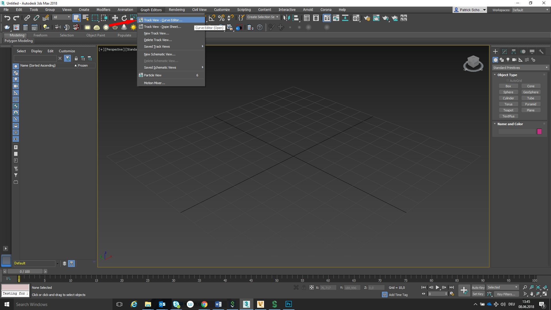Mini Curve Editor does not open in 3ds Max 2018   3ds Max ...