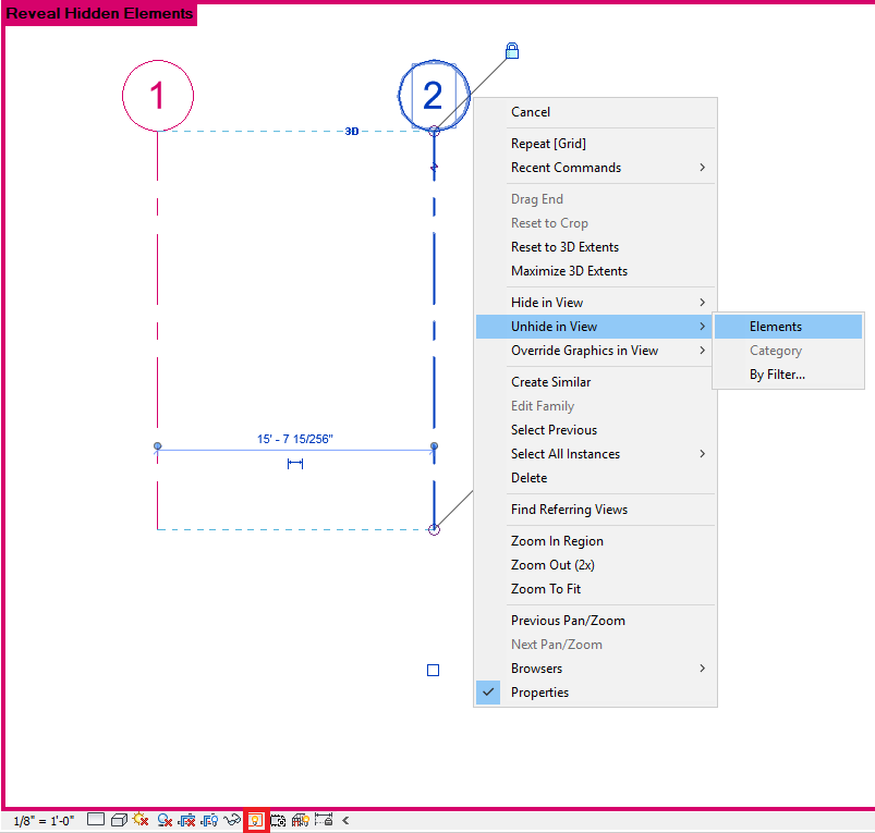 Grids Are Not Showing On All Floor Plan Views In Revit Model Revit Products Autodesk Knowledge Network