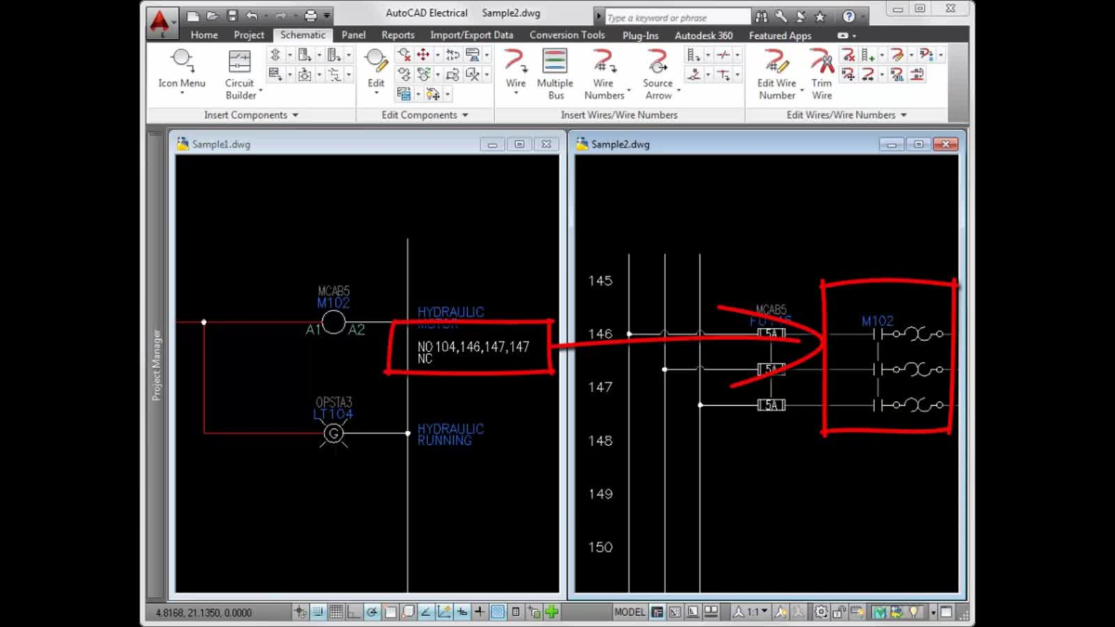 Autocad Electrical 2018 Help Schematic Creation Part 2 Video Wiring Basics