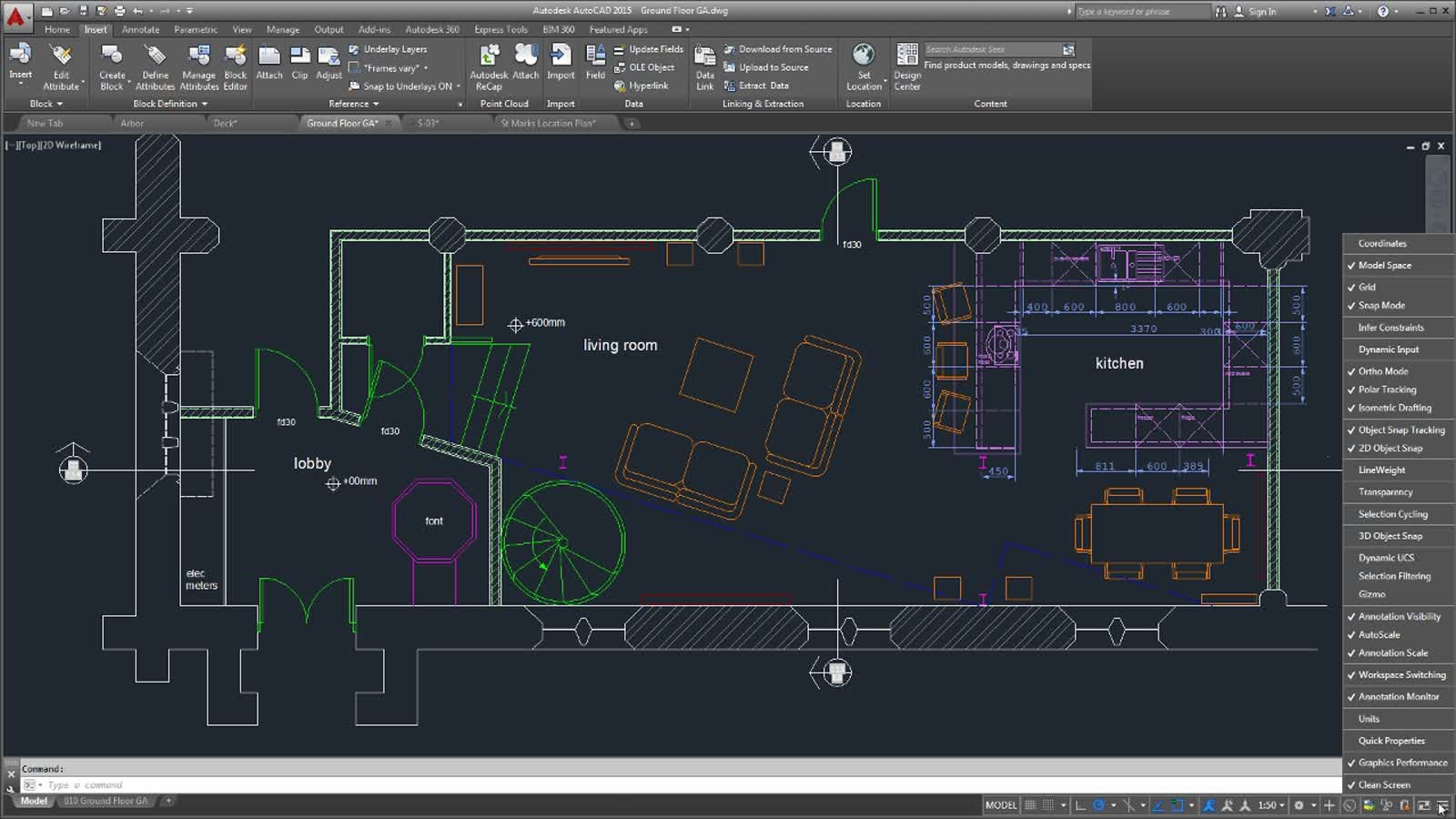 Drawing Smooth Lines In Autocad : New features overview of autocad autodesk