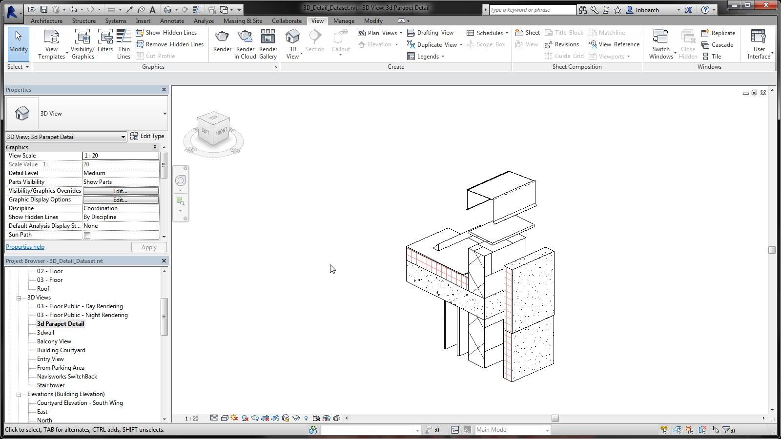 Add Tags and Keynotes in a 3D View | Revit Products 2019 | Autodesk