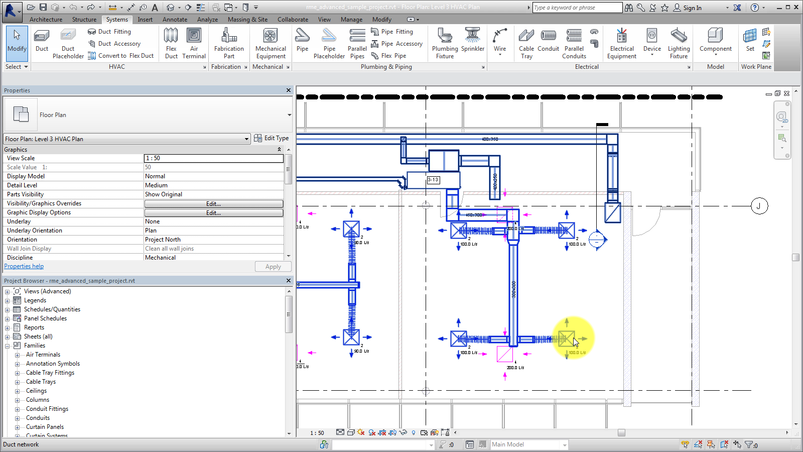Mep Systems Essential Skill Revit Products 2016 Autodesk Piping Layout Calculation Knowledge Network